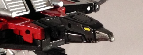 Laserbeak head sculpt robot mode