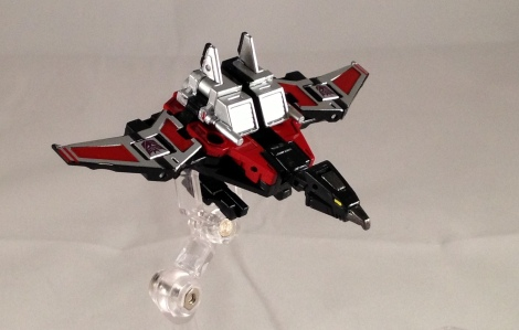 Laserbeak robot mode