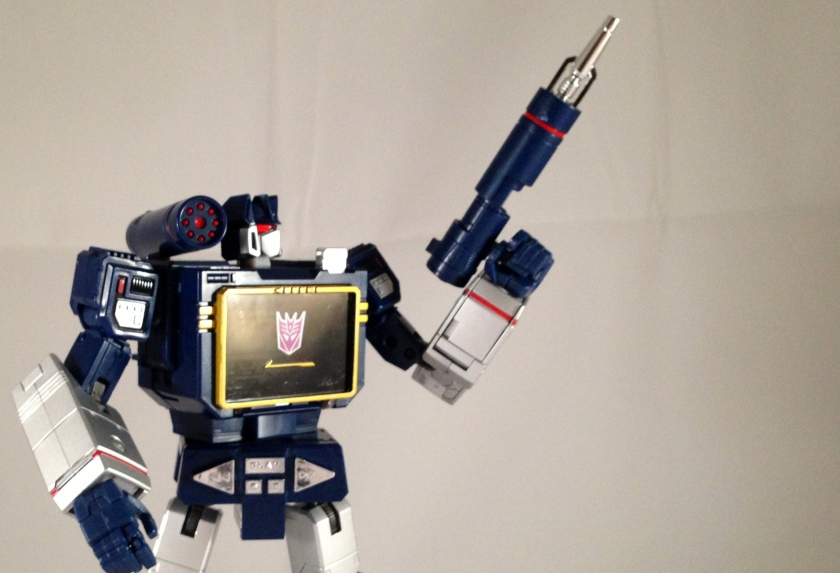 Robot mode concussion blaster