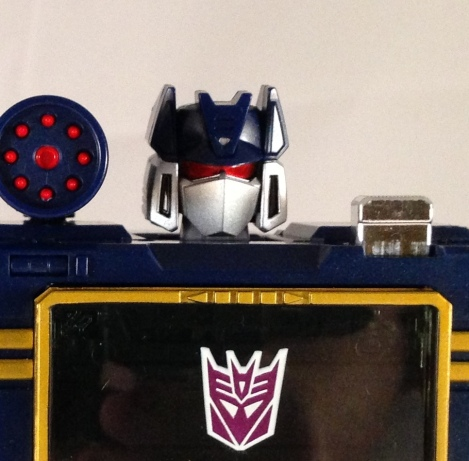 robot mode head scupt