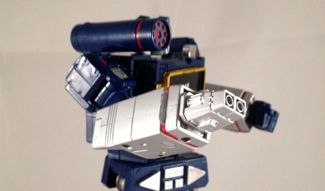 Robot mode sensor weapon