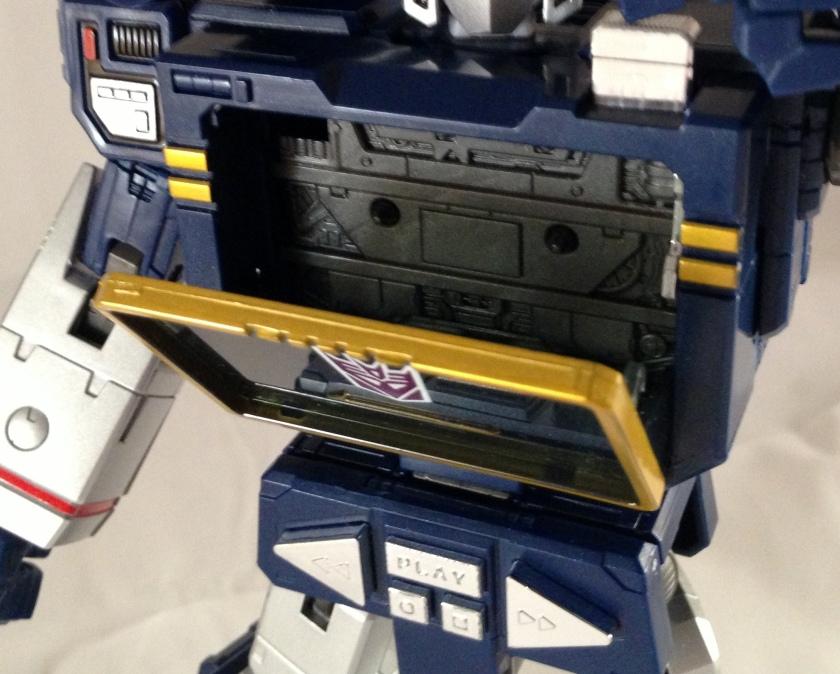 Robot mode tape cap 1