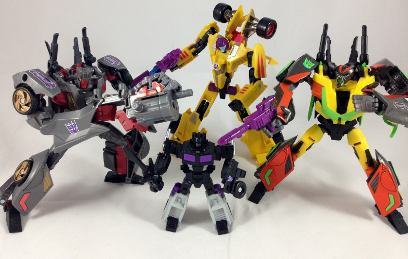 timelines stunticons